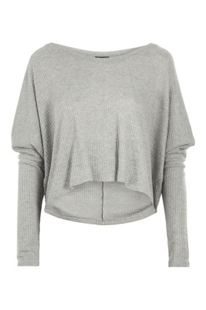 Topshop top grey