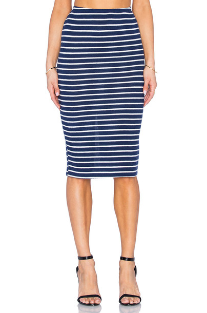 Hye Park and Lune skirt navy