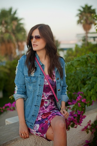the bow-tie blogger jacket bag sunglasses heart sunglasses