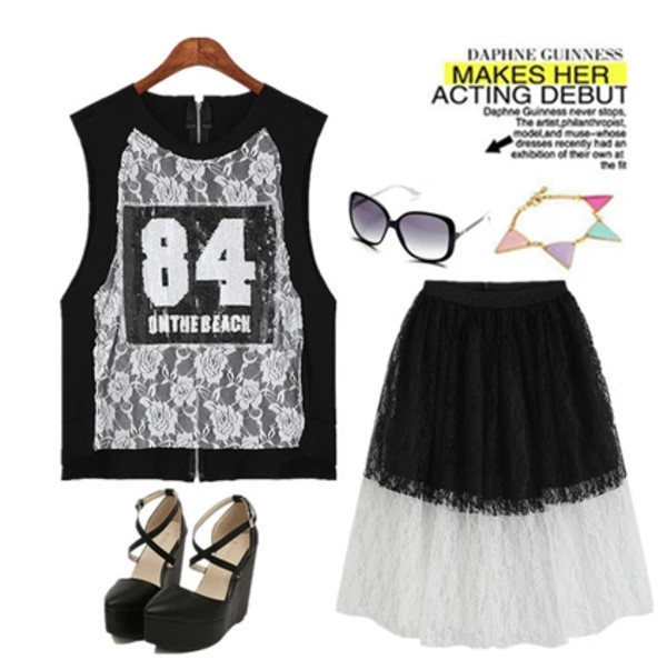 tank top top dress lace dress lace lace up sunglasses shoes jewelry jewels fashion t-shirt band t-shirt 269219 summer summer dress summer crush
