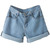 Sexy Roll-up Denim Casual Shorts