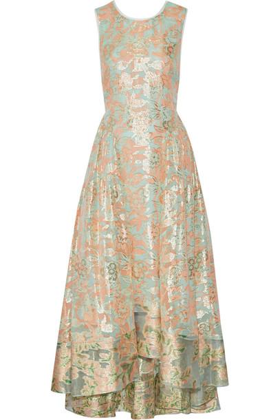 Tory burch fern maxi dress