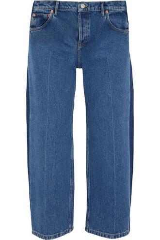 jeans cropped rockabilly