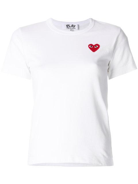 Comme Des Garçons Play Heart Logo T-shirt - Farfetch