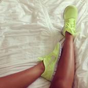 shoes,nike,sportswear,lemon,lime,green,neon,running,run,freerun,nike free run,yellow,neon yellow,nike sneakers,yellowfreerunshoes,hot,workout,perfect