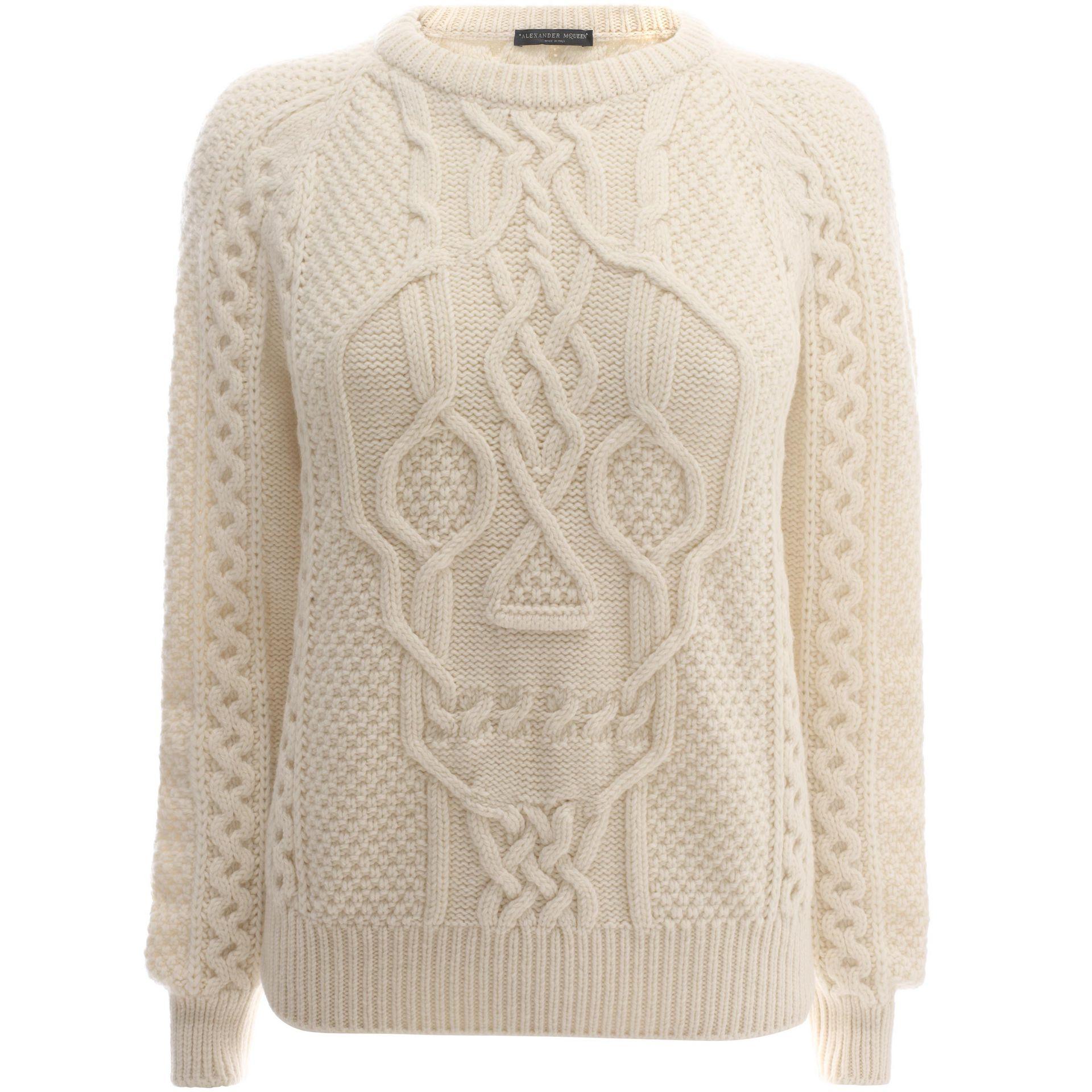adcaa4f83ce Women Knitwear - Women Tops   knitwear on ALEXANDER MCQUEEN Online Store