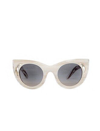 summer 2014 pixie market pixie market girl sunglasses cat eye sunglasses white sunglasses cute sunglasses