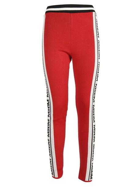 MSGM leggings pants
