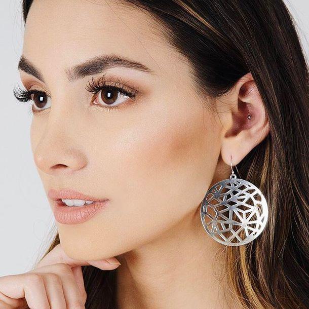 jewels earrings silver earrings boho boho inspiration boho jewelry boho earrings big earrings chunky earrings jewelry angl