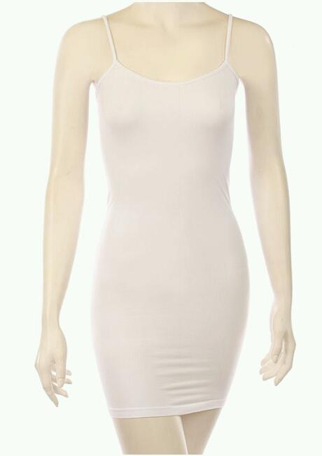 Solid color seamless bodycon dress