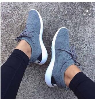 shoes nike rosche nike running shoes light blue