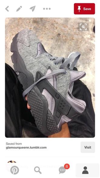 sneakers huarache grey sneakers nike