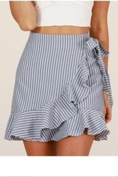 skirt,girly,girl,girly wishlist,stripes,ruffle,mini,mini skirt