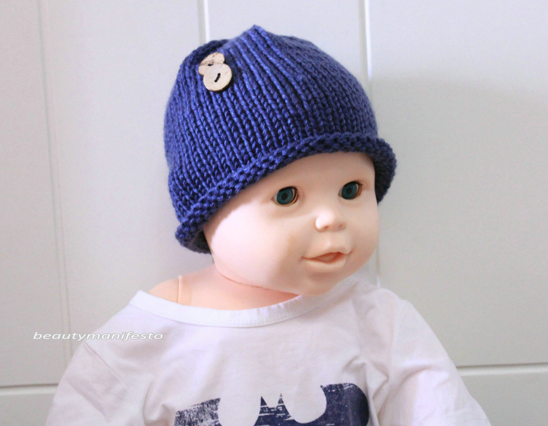 Newborn hat, newborn photo prop,knit baby hat, newborn boy hat, newborn knitted baby hats, newborn photography prop, little boys hats.