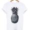 Pineapple print tshirt - stylecotton