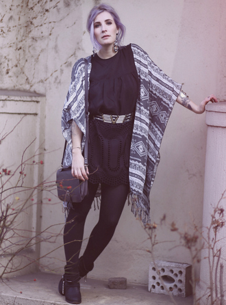 like a riot blogger belted dress waist belt tribal pattern kimono jewels dress belt bag shoes