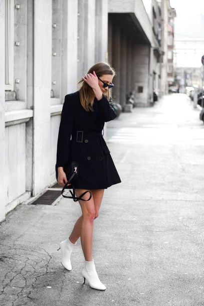 mini dress with booties
