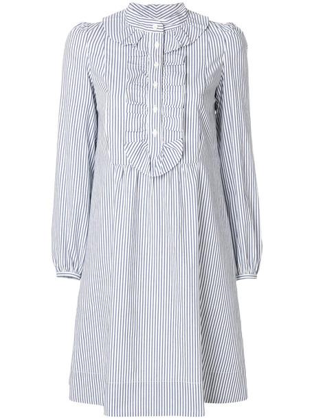 A.P.C. dress mini dress mini women cotton blue