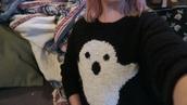 sweater,halloween,ghost,noodlerella