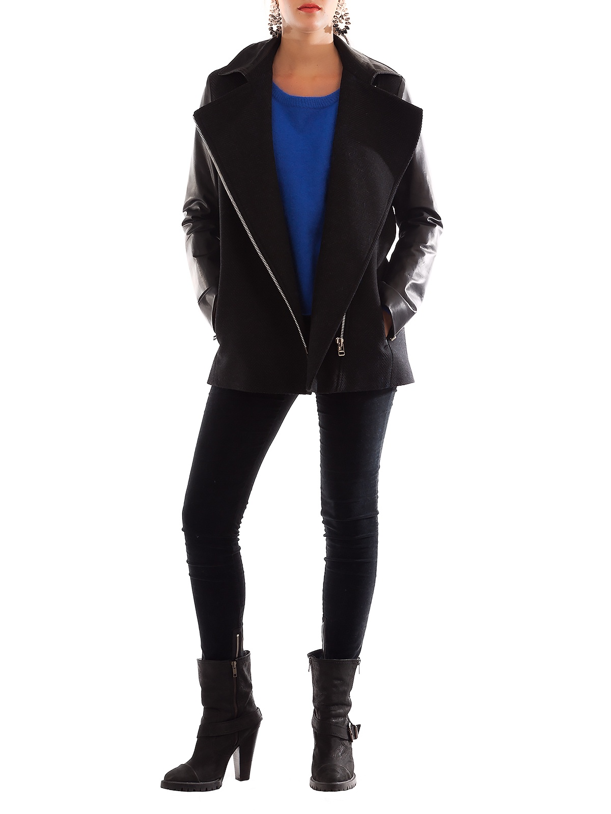 EUROPE BLACK JACKET | GIRISSIMA.COM - Collectible fashion to love and to last