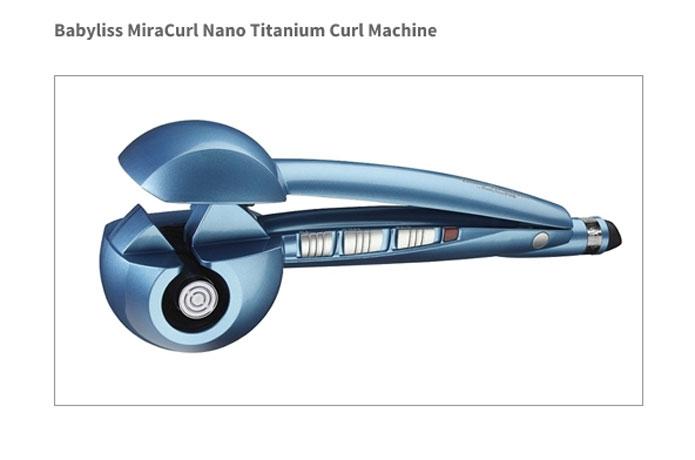 Babyliss Pro Mira Curl Titanium Curl Machine
