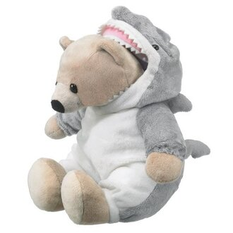 home accessory teddy bear shark ocean forrest bear stuffed animal funny