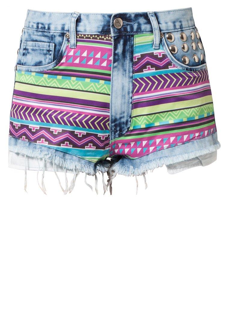 BamBam Jeans Shorts - hellblau/bunt - Zalando.ch
