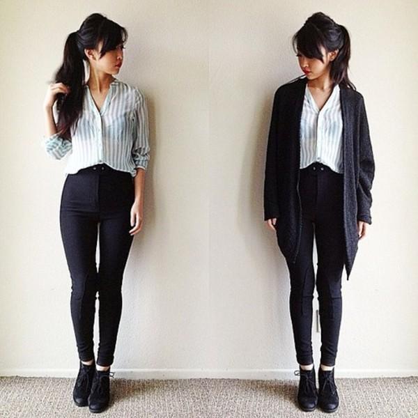 sweater blouse pants