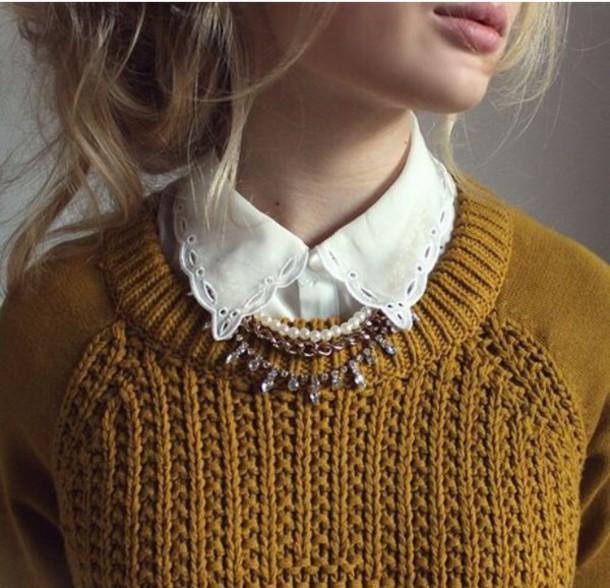 blouse design classy collar