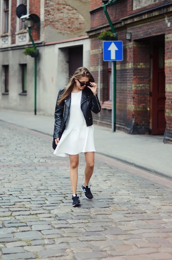 jestem kasia blogger sunglasses jacket shoes bag