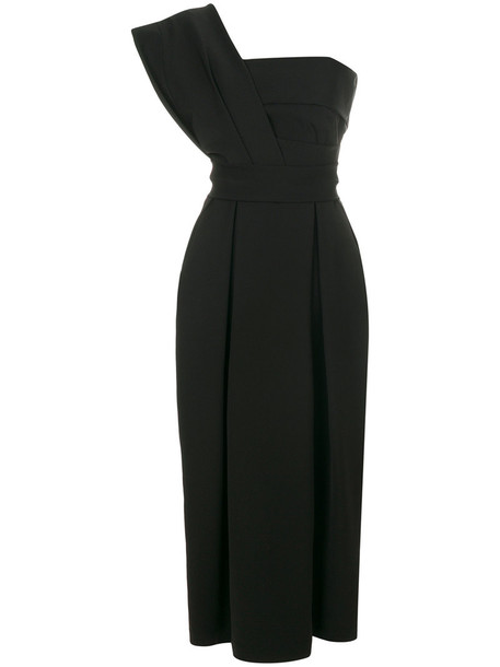 dress women spandex black