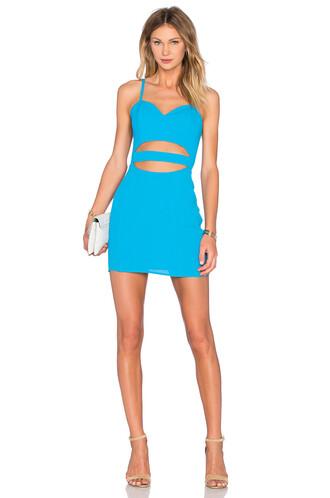 dress bodycon bodycon dress cross blue