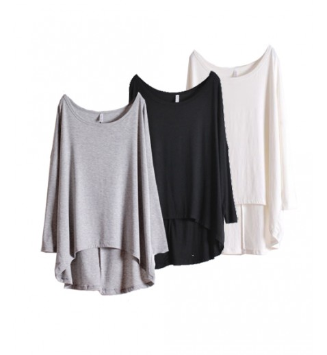 Slouchy Long Sleeve Tee