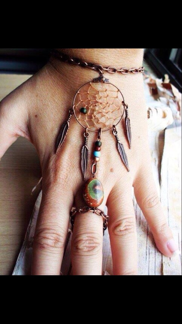 jewels tumblr outfit tumblr jewellery tumblr tumblr fashion tumblr clothes dreamcatcher grunge grunge jewelry cardigan