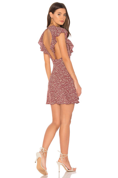 FLYNN SKYE dress mini dress mini red