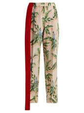 print,silk,pink,pants