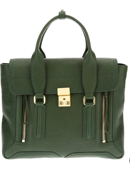 3.1 Phillip Lim satchel women leather green bag