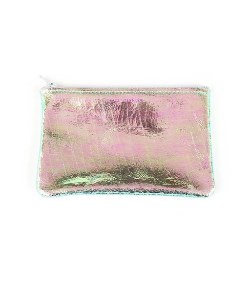metallic bag pouch makeup bag
