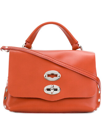 women baby leather red bag