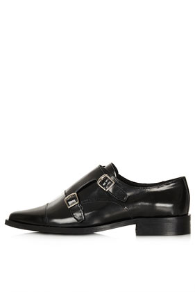 PERPIGNAN Monk Shoes - View All  - Shoes  - Topshop