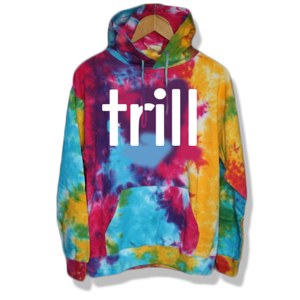 sweater trill tie dye swag dope