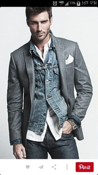 jacket menswear mens jacket denim jacket mens denim jacket