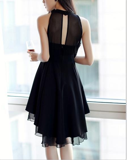 Hot show body chiffon dress