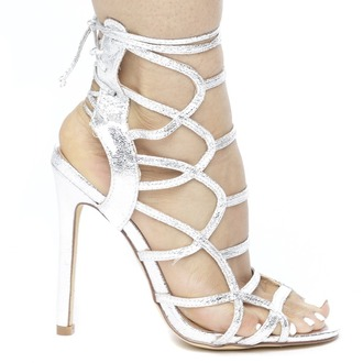 shoes heels silver silver shoes silver heels metallic metallic shoes metallic heels caged caged shoes caged heels