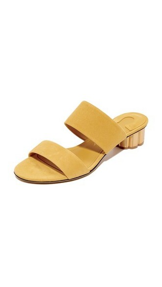 indian yellow shoes