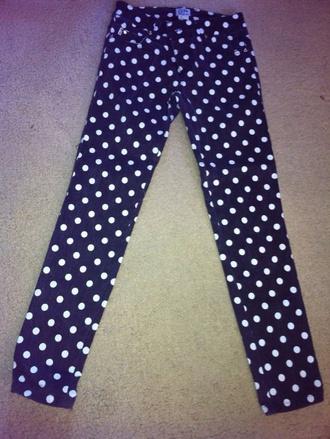 jeans polka dot jean polka dots denim