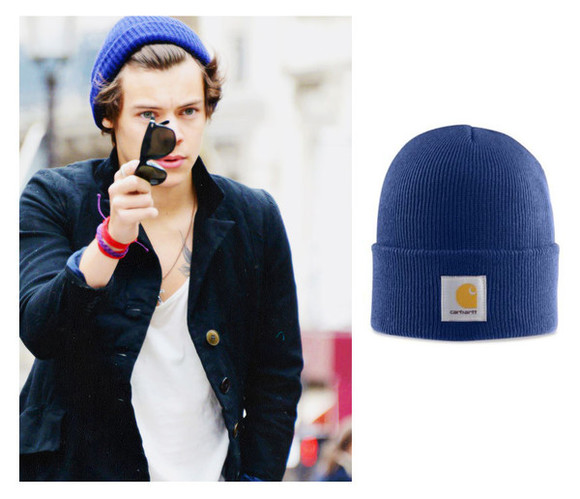 harry styles one direction hat sunglasses