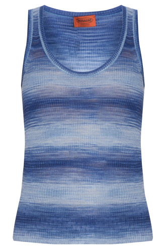 tank top top space blue