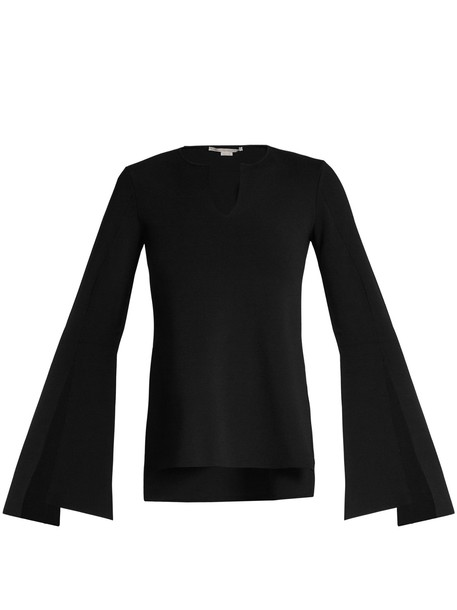 Stella McCartney top knit black