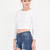 Everyday Thing Rib Knit Crop Top BLACK OLIVE WHITE - GoJane.com